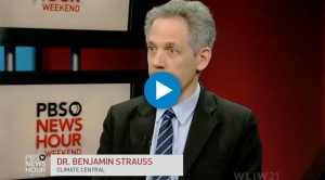 Ben Strauss on Antarctic Ice Melt with PBS NewsHour