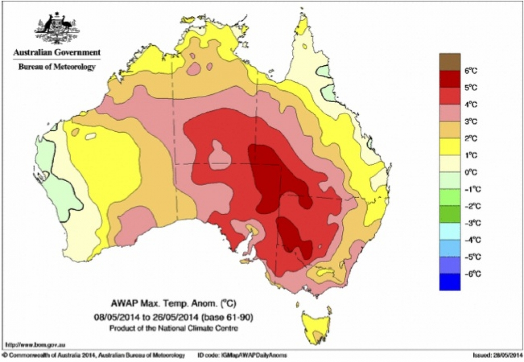 Global Warming Playing a Role in Australias Record Heat Climate