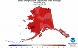 Alaska Continues to Bake, on Track For Hottest Year
