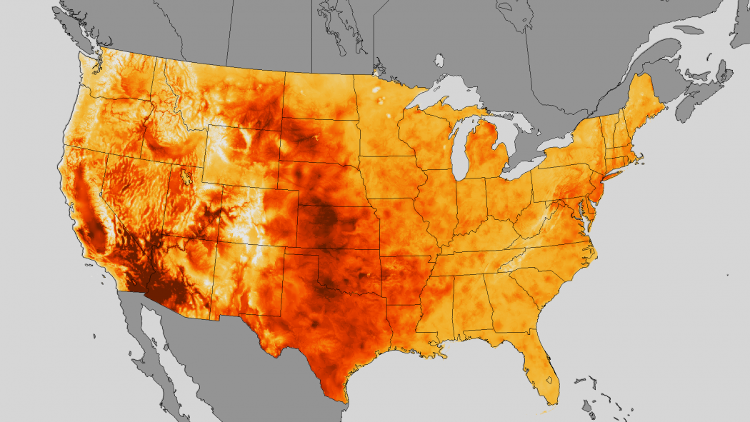 Midjuly Heat Wave Bakes The Us Climate Central Us Weather Heat Map