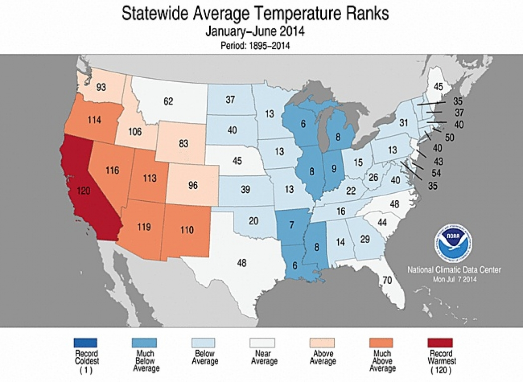 Six Months In and Sizzling California Sets Record | Climate Central