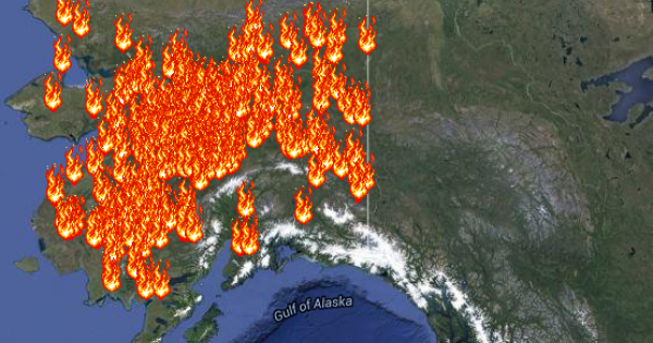 Interactive Wildfires Map Tracks The Blazes In The US Climate - Western us fire map