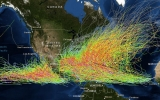 Image of the Day: Historical Hurricane Tracks