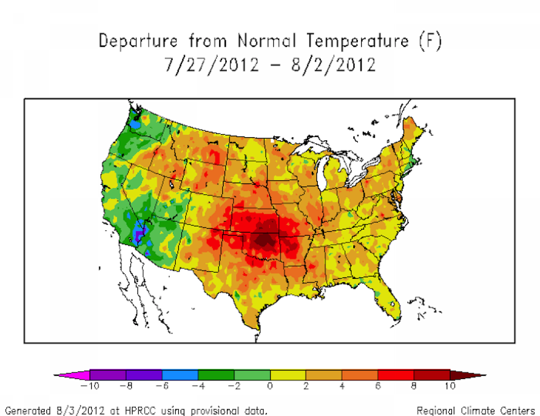 Hansen Study Extreme Weather Tied To Climate Change Climate Central - Usa extreme weather map