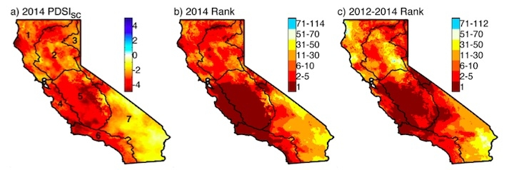 The Climate Change Bully in Californias Drought Climate Central
