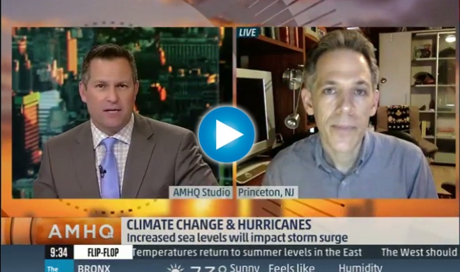 Ben Strauss Talks Katrina on The Weather Channel
