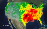 All of 2015's Rain for the U.S. in 14 Seconds