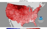 2016 Third Warmest for U.S. Through July
