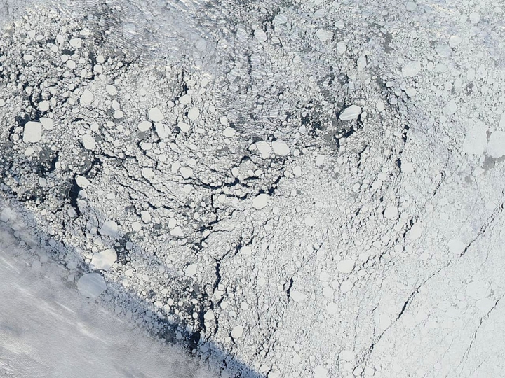 Summer Sea Ice Likely to Drop to 4th Lowest on Record