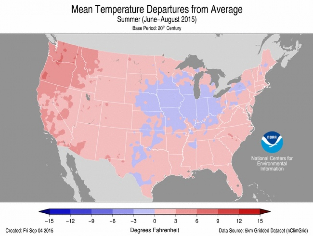 4 Western States Could See Warmest Year on Record | Climate Central
