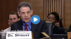 Ben Strauss' Senate Testimony on Sea Level Rise