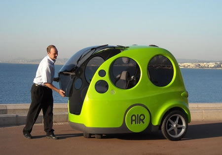 Taking The Smart Car A Step Further India S Tata Motors Is Fine Tuning Airpods Vehicle Producing Zero Pollution And Zip Around At 40 Mph Through