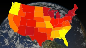 Since 1st Earth Day, U.S. Temps Marching Upward