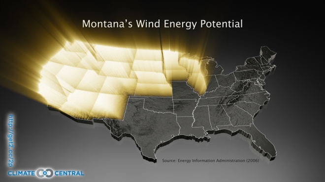 Montana's Wind Energy Potential