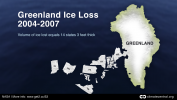 Greenland Total Ice Loss 2004-07