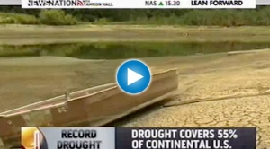 Catastrophic Drought a Possible Snapshot of Future