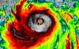 Image of the Day: Okinawa Faces Super Typhoon Sanba