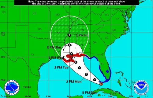 Gulf Coast States Brace for Arrival of Tropical Storm Isaac ...