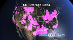 CO2 Storage Areas
