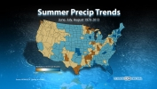 Summer Precipitation Trends