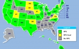 Interactive Map Compares States' Renewable Energy Goals