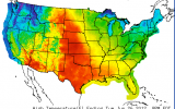 Heat Wave Bakes the West and High Plains, Moves East