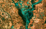 Image of the Day: Meandering Mississippi From Space
