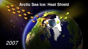 Arctic Sea Ice: Heat Shield
