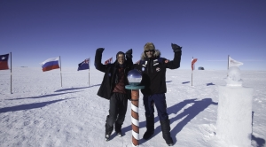 A Two-Man Trek Across Antarctica