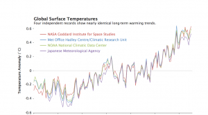 Global Surface Temperature Anomalies