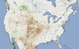 Image of the Day: Satellite Spots Parched U.S. Landscape