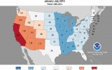 California Has Hottest Start to Year While Midwest Chills