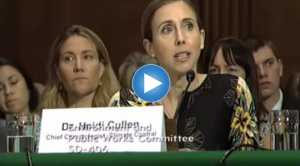 Heidi Cullen's Senate Testimony on Climate Science