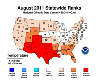 news texas sets record hottest ever summer