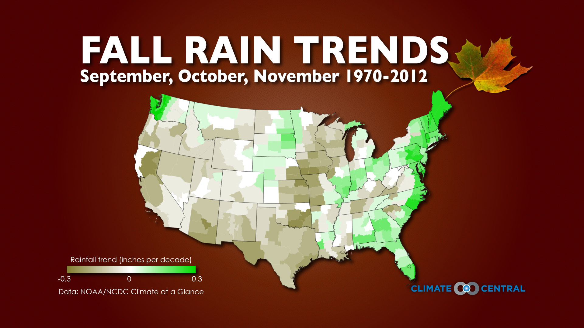 Fall Temperature & Rainfall Trends | Climate Central