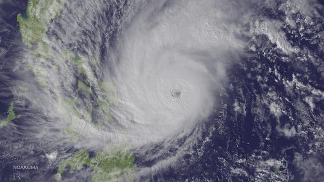 Warm Ocean Waters Boosting Typhoons, Record Heat