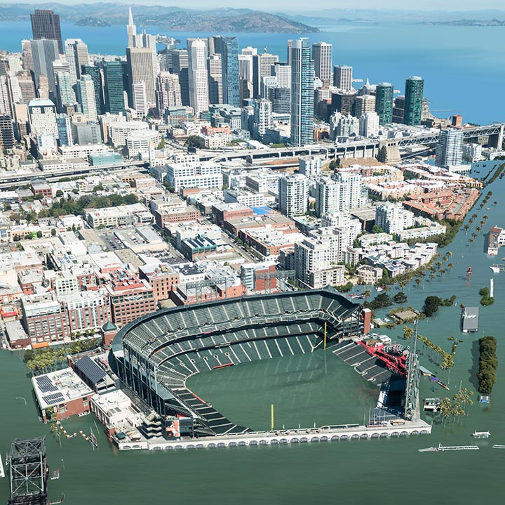 Picture This U S Cities Under 12 Feet Of Sea Level Rise