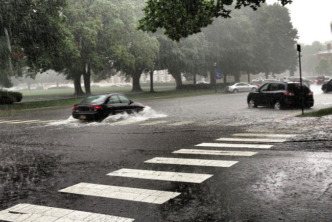 Wet, Wetter, Wettest Makes July No. 5 in Record Books