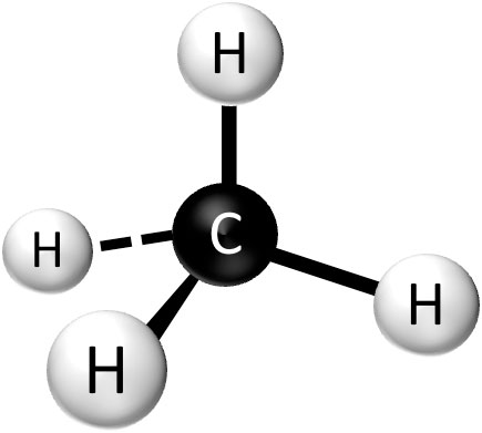What Is The Molecular Structure Of Natural Gas