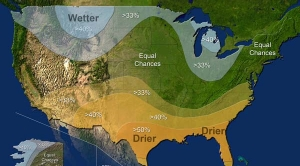 Winter Drought Forecast for Much of U.S.