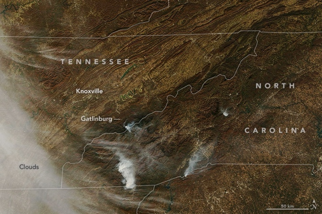 Tennessee Wildfire Is Unlike Anything We Ve Ever Seen Climate