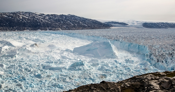 Greenland's Melt Season Started Nearly Two Months Early