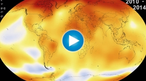135 Years of Global Warming in 30 Seconds
