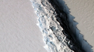 Large Iceberg Poised to Break Off From Antarctica