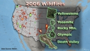 Wildfires in the West