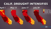 California Drought Intensifies