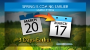 Spring is Arriving Earlier in the U.S.