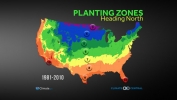 Planting Zones Heading North