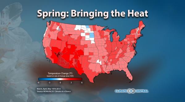 Spring Temperature Trends