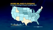 Report Shows Inland Flooding to Increase in the U.S.